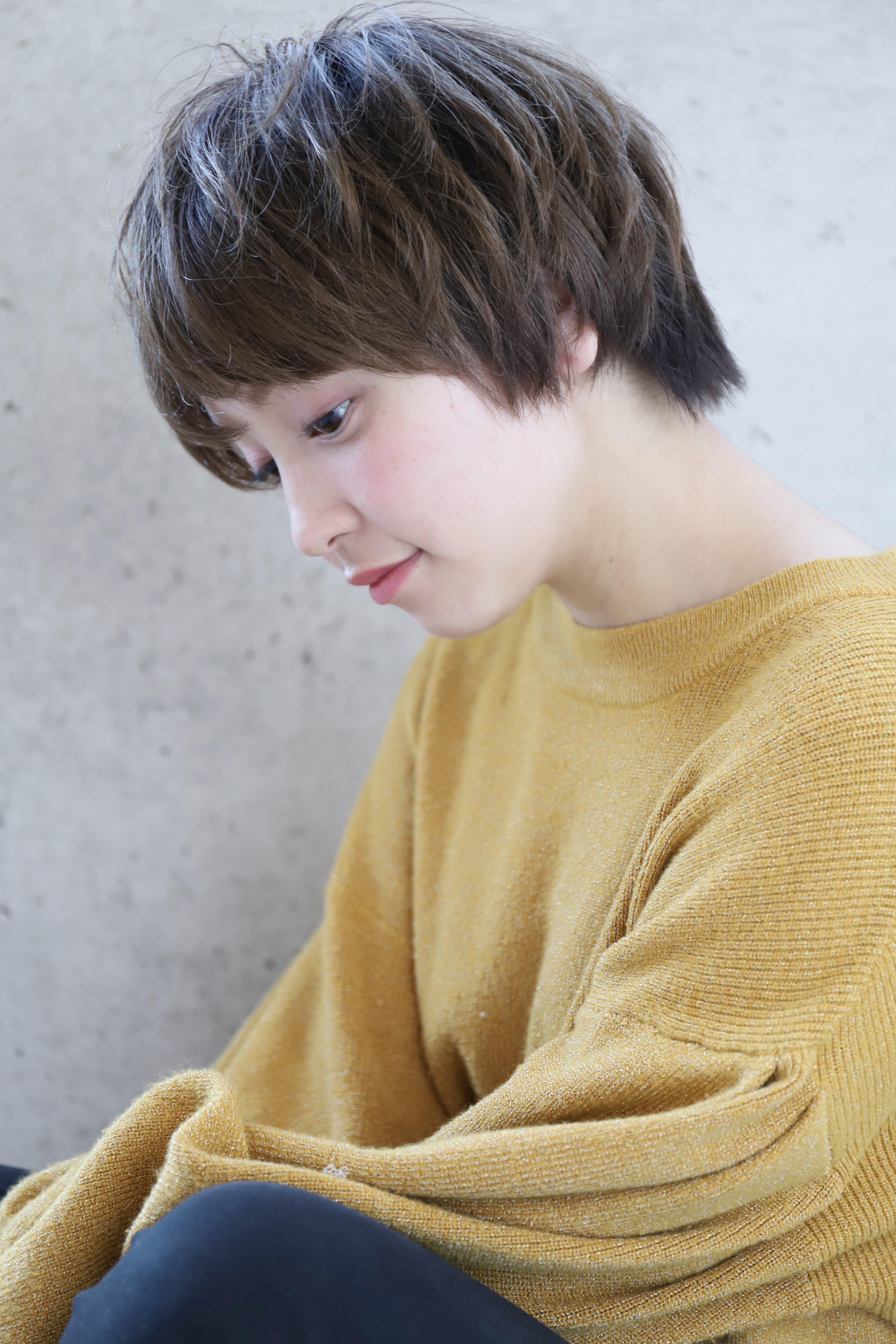【SeeK NEXT島貫】ゆるふわパーマ×ショートボブ